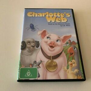Charlotte's Web (DVD) Original 1973 children's animation