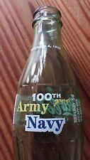 1999 Coke Coca-Cola NCAA 100th Anniversary Army vs Navy Football Game 8oz Bottle