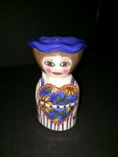 Susan Paley Egg Cup by Ganz  - Chickie, Colorful