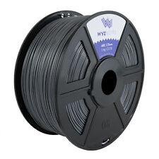WYZwork 3D Printer Premium ABS Filament 1.75mm 1kg/2.2lb - Grey