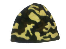 NEW UNISEX ADULT LADIES GENTS THE HOT STUFF CO CAMO ARMY STYLE FLEECE BEANIE HAT
