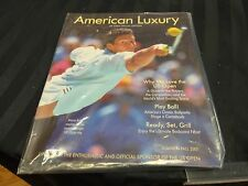 2001 American Luxury US Open Special Edition Magazine