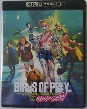 DC COMICS BIRDS OF PREY 4K ULTRA HD BLU RAY 2 DISC SET FREE WORLDWIDE SHIPPING