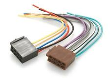 Car Stereo Wiring Harness ISO bare end plugs for vehicles without ISO connectors