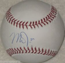 Mike Trout Signed Anaheim Angels Official Major League Baseball MLB.COM Hologram