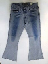 Take Two  Jeans Hose Schlaghose Blau Stonewashed W30 L32