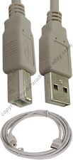 Lot10 6ft USB 2.0 A~B AB Printer/Device/Scanner Cable/Cord for HP/Canon/Epson {L