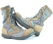 Corcoran Brand Of Quality Mens sz 7.5 D Gray Tan Military Combat Boots 87146 USA