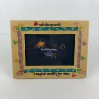 "Walt Disney World Wood Picture Frame ""A Magical Memory for Mom"" *Read*"