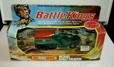 Matchbox Battle Kings K-108 M3A1 Half Track Metallic Green MIB