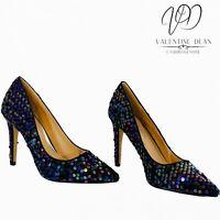 Dune x Head Over Heels Women's Shoes Alegra Sequins Court Heels Size 4 Uk