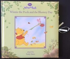 WINNIE THE POOH AND THE BLUSTERY DAY ADAPTED BY TEDDY SLATER NEW HARDBACK BOOK
