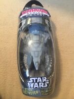 STAR WARS TITANIUM STAR DESTROYER IMPERIAL CRUISER MICRO MACHINE RARE! NIP