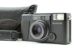 【 Mint + Original Leather Case & Strap 】 Fujifilm KLASSE BLACK From Japan #083