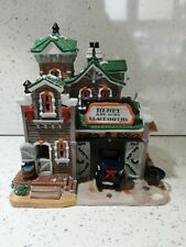 Lemax christmas village buildings 'HENRY AND SONS BLACKSMITHS'