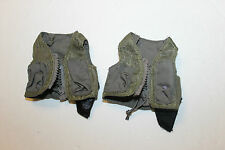 "1/6 Scale green female pilot vest  for  12"" inch figure 1/6th scale"