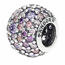 S925ALE Authentic Pandora Lights with Multi-Colored Zirconia 791261A Charm  Bead