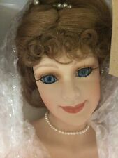 """Court of Dolls 26"""" Porcelain Doll Alexis Bride By Jenny"""