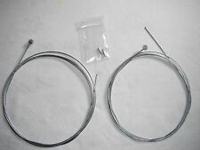 2 X Inner Brake Cables for Mountain Bike or BMX Crimps. Pair Break Bicycle