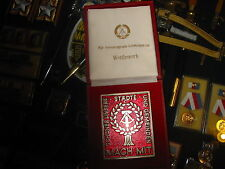 EAST GERMAN AWARD