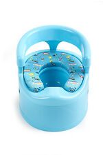 Padded Toilet Seat Potty Training Seat with Removable Drawer