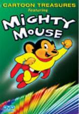 Cartoon Treasures Featuring Mighty Mouse DVD VIDEO MOVIE Wolf Goofy Bars episode