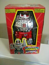 BATTERY OPERATED RED/SILVER GALAXY ROBOT RANGER II -NEW IN ORIGINAL BOX