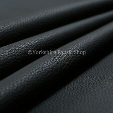 Black Colour Recycle Friendly Eco Leather Upholstery Fabric & Auto Trim Material