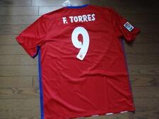 Atletico Madrid #9 F Torres 100% Original Jersey Shirt XL 2015/16 Home BNWT Rare