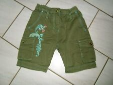 Super Shorts Hose  Gr.110/116 PAMPOLINA khaki türkis Oceania neuwertig