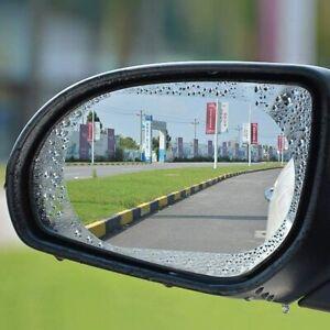2x Car Anti-fog Rainproof Sticker Side Mirror Window Protective Film Rain Shield
