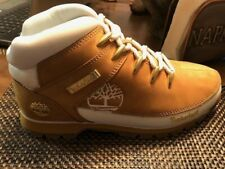 Timberland Euro Sprint Mid Hiker Wheat Nubuck with White (Women's) Size 9.5 *NEW