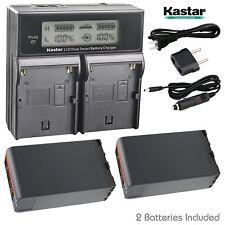 BP-U90 BP-U96 Battery & Dual Charger for Sony PMW-300 PMW-EX1 PMW-EX1R PMW-EX3R