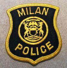 MI Milan Michigan Police Patch