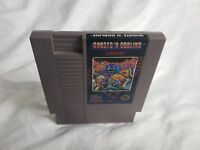 Ghosts 'n Goblins Nintendo NES VIDEO GAME CART 5 SCREW GREAT CONDITION