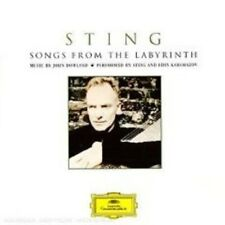 """STING """"SONGS FROM THE LABYRITNH"""" CD BONUSTRACK EDT NEW!"""