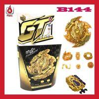 SET LANCEUR + TOUPIE B144 BEYBLADE BURST GT GOLD TURBO ZWEI LONGINUS JEU JOUET