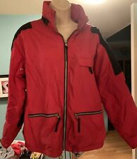 Vintage Polar Wind Ski Winter Jacket Black and Red Size Small