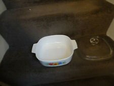 Large baking/casserole dish with handles and lid (oblong)