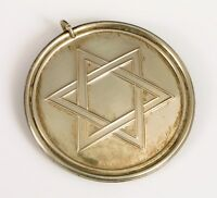 VINTAGE TOWLE STERLING SILVER STATE OF ISRAEL 25 YEAR COMMEMORATIVE MEDALLION !