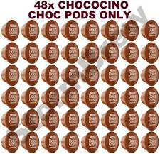 48x NESCAFE DOLCE GUSTO CHOCOCINO CHOCO CHOC ONLY PODS (NO MILK CAPSULES)