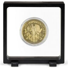 Magic Floating Frame 3D Capsule Holder Coins Stamps Minerals Display Antiques
