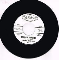LANNY DUNCAN - ROMEO'S TEACHER (Hot 50s Rockabilly JIVER) New repro