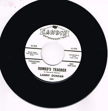 LANNY DUNCAN - ROMEO'S TEACHER (Hot 50s Rockabilly JIVER) New repro