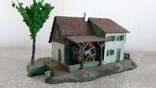 NEUWARE! H/&P Schneidmühle mit Wasserrad H0 Bausatz