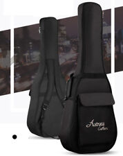 "US Folk Acoustic Guitar Gig Bag Soft Case Strap Padded For 39/40/41"" Waterproof"