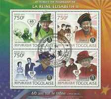 Timbres Famille royale Togo 2852/5 o année 2012 (30416) - cote : 17 €