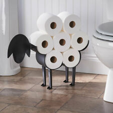 Sheep Decorative Toilet Paper Holder - Free-Standing Bathroom Tissue Storage