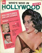 Elizabeth Taylor Sandra Dee cover Who's Who In Hollywood no. 18 magazine 1963