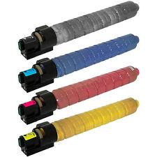 4-Pack Toner Set for Ricoh Aficio MP C2500 C3000 MPC2500 MPC3000 888636